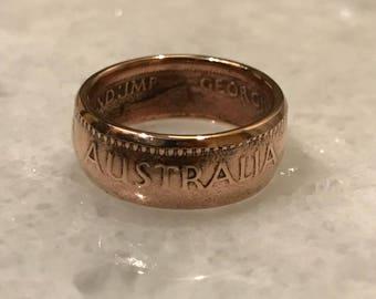 Australia Penny Ring