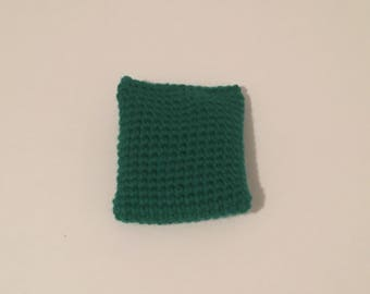 Crocheted bean bag