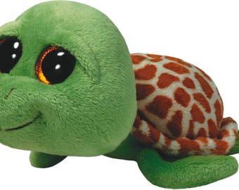 Ty Beanie Boos Zippy Green Turtle Plush 36109