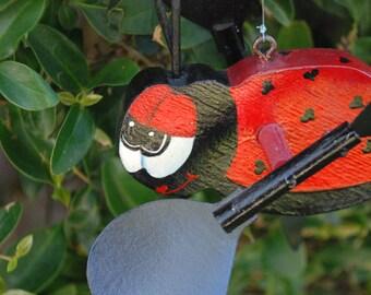 Lady Bug Whirlygig