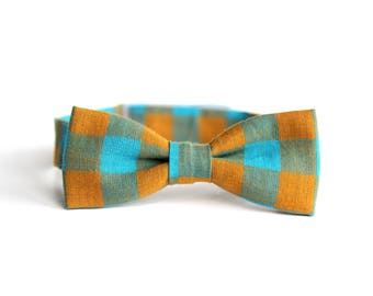 toddler bow tie, kids bow tie, boys bow tie, plaid bow tie, bow tie for toddlers