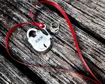 Padlock Love Lock Personalized Padlock