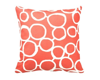SALE | 30% OFF: 22x22 Pillow 20x20 Pillow Cover Decorative Throw Pillow Covers Orange Pillow Orange Accent Pillows Cushion Covers