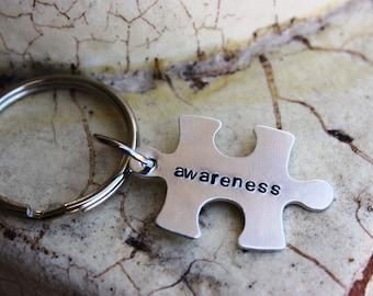 Key chain -- Autism Awareness