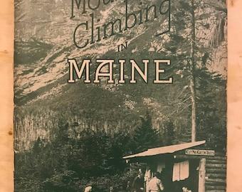 Mountain Climbing in Maine