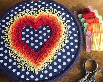 Embroidery Heart, Embroidery Hoop Art, Hand Embroidery, Handmade, Embroidery Hoop