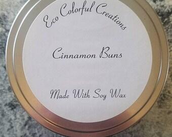 Cinnamon Buns Soy Candle 8oz