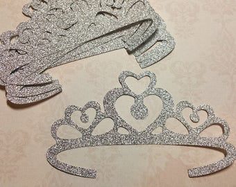 Die Cut Tiaras/Princess Crowns.        #K-12