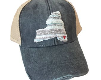 Chic Baby Rose Build Your Own State Adult Hat Available in many colors and patterns
