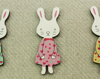 Bunny Wood Cutout