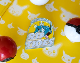 Pokemon Gyarados Soft Enamel Pin