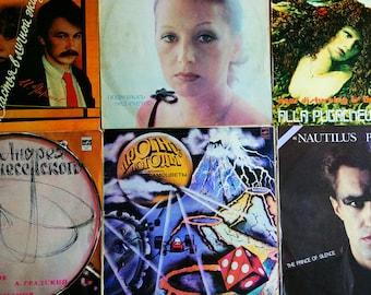 Alla Pugacheva,Igor Nikolaev,Nautilus Pompilus,Vintage vinyl record,old records,soviet vinyl record,ussr vinyl record,vinyl record decor