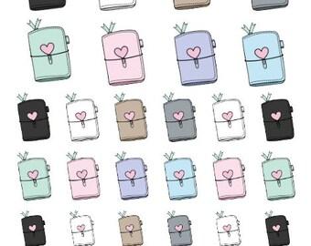 Mini Sticker Sheet  - Planning Time (Travelers Notebook)