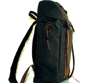 Canvas Mountaineer Backpack 15l Day pack  Bike Backpack School Bag  Rucksack  Men's Backpack  Women's Backpack