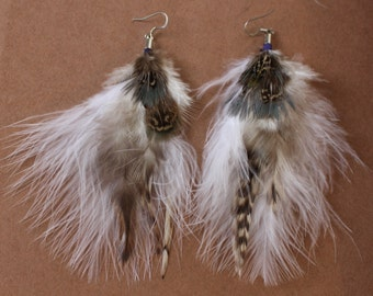 FEATHER Earrings -- Bird, Native American, Southwest - Style 8