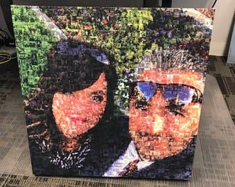 36x36 - Custom Collage Canvas Wrap