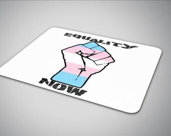 Equality Now Transgender Flag mouse pad
