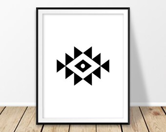 Artwork prints, Bedroom wall art, Abstract wall art,  Southwestern art, Aztec print, Native American artwork, Tribal wall decor,  Navajo art