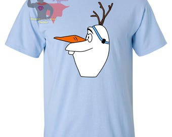 Snowman bone conduction BAHA hearing aid shirt