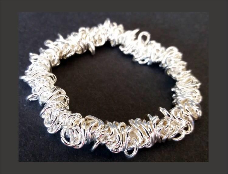 Ausgezeichnet Sterling Silber Draht Schmuck Zeitgenössisch ...