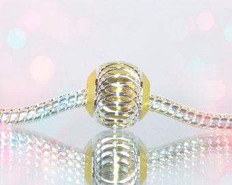 European Aluminum 10mm Bead for Bead Bracelets