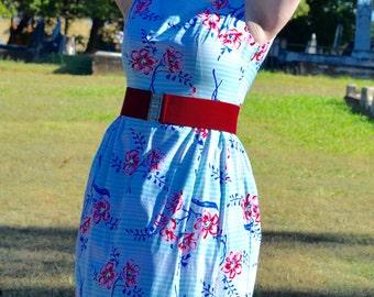 Vintage dress, vintage clothing, wrap dress, wrap dress pattern, 60s dress, 1950s dress, pin up dress, rockabilly dress, OOAK