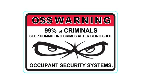 6 x Home Protected Stickers for Windows-Monitored Alarm System-24hr Security  Warning Signs