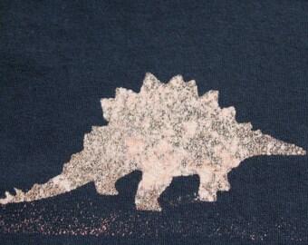 Dinosaur T-shirt Adult Unisex - Crew Style Stegosaurus