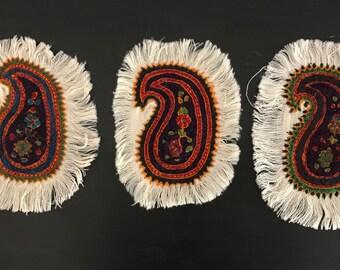 Ethnic persian decoration patteh (rug, mat)