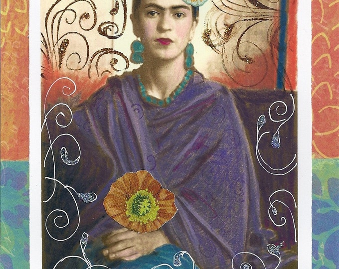 Global Frida Kahlo print