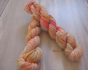 Insta-Queen   -  20 gram mini skein, 75/25 sock yarn,