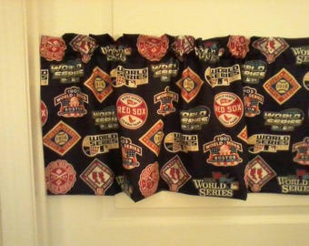 Red Sox World Series valance