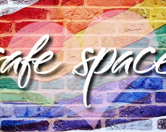 "Safe Space LGBTQ 2"" x 3.5""  Refrigerator Magnet"