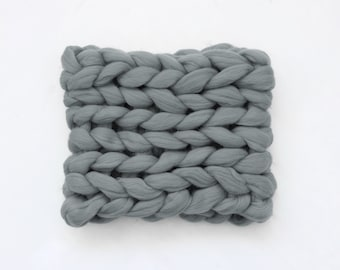 Chunky knitted Scarf Chunky Knit Scarves Super Chunky Infinite Scarves Chunku Scarf Mohair Scarf Knit Scarf PLAIDA WOOL