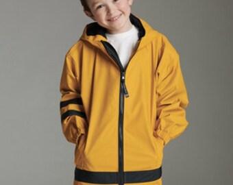 Children's Charles River Monogrammed Rain Jacket ~ 4-7 ~ Kid's monogrammed rain jacket