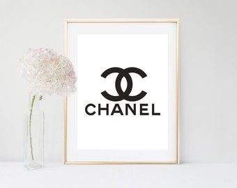 Chanel print, Coco Chanel decor, Chanel Wall art, Chanel,COCO Chanel poster, Chanel home decor, Chanel, Chanel wall decor,Coco, Chanel decor