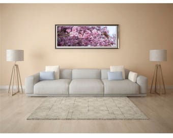 Flower photography, Pink cherry blossom prints, Blossom photography, Pink wall decor, Pastel floral photograph, Flower Print Gifts for girls