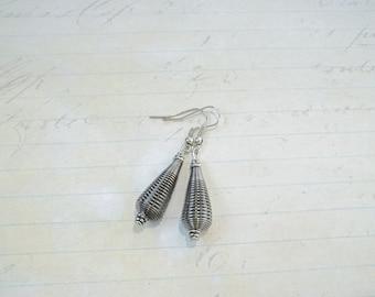 Industrial Coil Spring Earrings