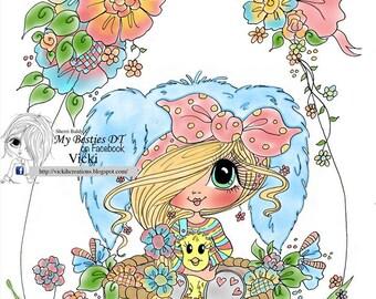 INSTANT digitale Digi Stamps Big Eye Big hoofd poppen Bestie Scan0023in Besties TM door Sherri Baldy downloaden