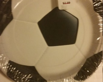 soccer plate,sport plates, tableware,party supplies