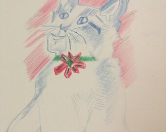 Minnie Me. Holiday Portret
