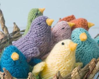 Vogel Stofftier, Geschenk für Kind, Strumpf Stuffer, Vogel Plüsch-Spielzeug, Baby-Dusche-Geschenk, Kinderzimmer Dekor, Waldorf Spielzeug