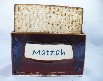 Passover, Matzah Holder, Pesah, Matzah Plate, Seder