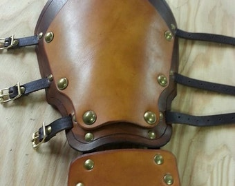 Leather Armor Layered Gauntlets
