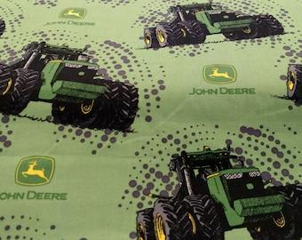 John Deere Big Time Tractor Fabric by the yard