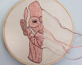 3 Piece Anatomy Embroidery