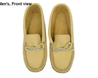 Moosehide Moccasins - Men's, Various Sizes (201-489-Mxxx)