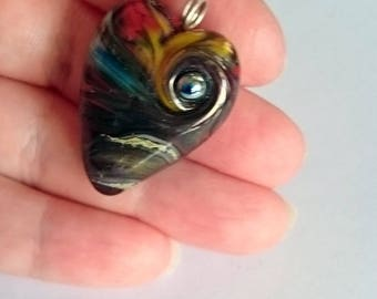 LandScenes! Beautiful glass necklace made Jenefer Ham