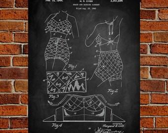 Bathing Suit Art Print, Bathing Suit Patent, Bathing Suit Vintage, Bathing Suit Blueprint, Bathing Suit Print, Prints, Wall Art, Decor