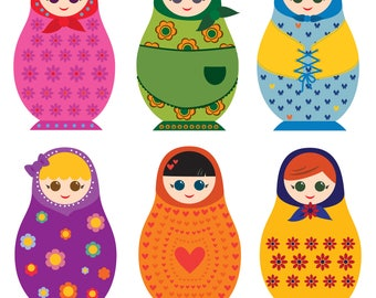 Russian Dolls - Fun Series